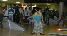 Bowling at Holiday Lanes