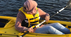 Youth Group: Canoeing