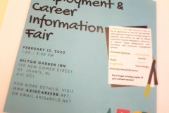 AXIS Employment and Career Information Fair (February 12, 2020)