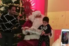 17 Boy 2 with Santa