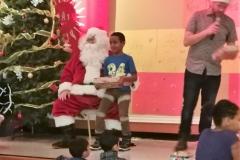 18 Boy 3 With Santa