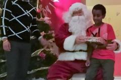 19 Boy 4 With Santa