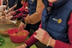 Rotarians Serving Food -- Shannie Duff FG
