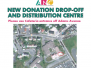 New Donation Drop-off And Distribution Centre