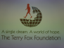 Terry Fox Cheque Presentation