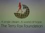 Terry Fox Cheque Presentation