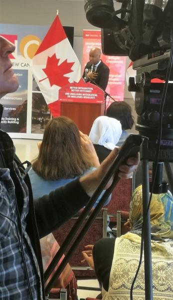 Ahmed Hussen camera