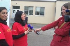 Gerri Lynn Mackey (NTV) at work