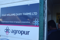 Visit to H&E Williams Dairy Farm