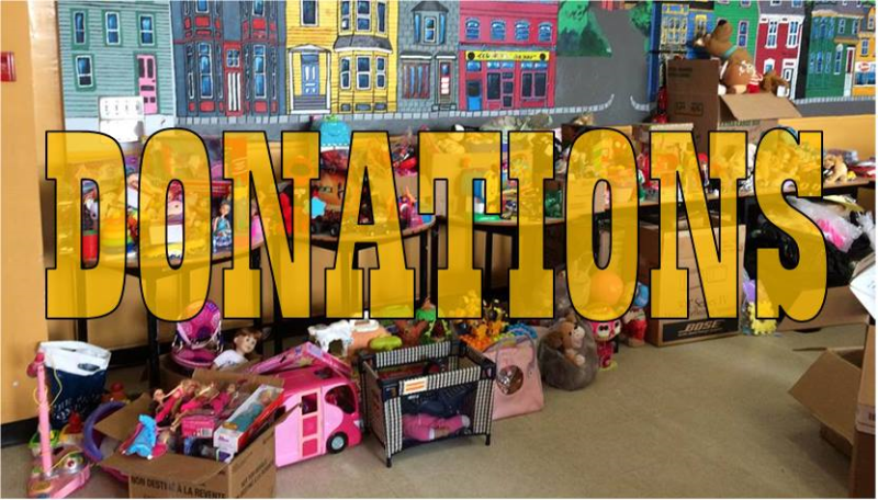 Booth Donation Centre Closed!!
